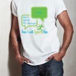 Printanje majica s šaljivim slikama i natpisima